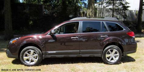 subaru brown outback 2013 exterior photographs page