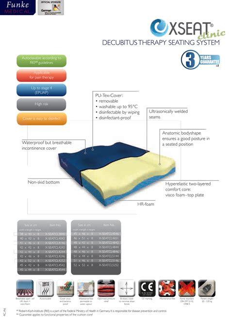 wheelchair cusions cushions supports funke x seat clinic cushion