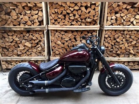 Suzuki Bobber Parts by Suzuki Vl800 Volusia Intruder Custom Bobber Bike Build
