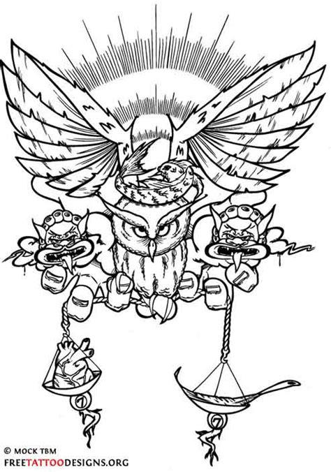 8+ Justice Scale Tattoo Designs
