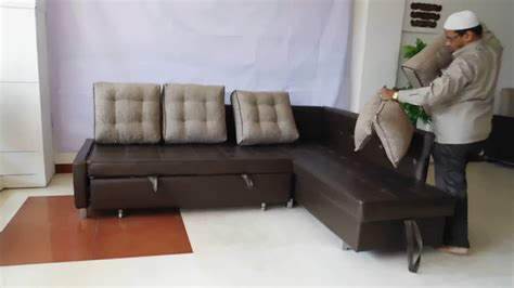 sofa cum bed   stainless steel youtube