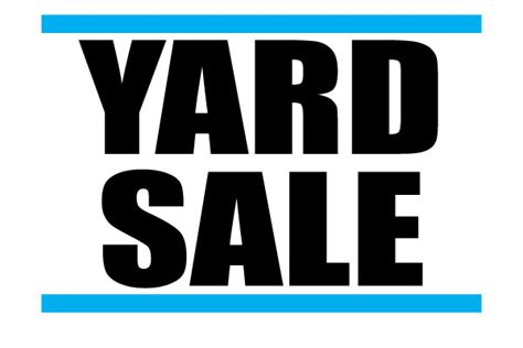 sale signs printable printable yard sale signs free download for advertisement