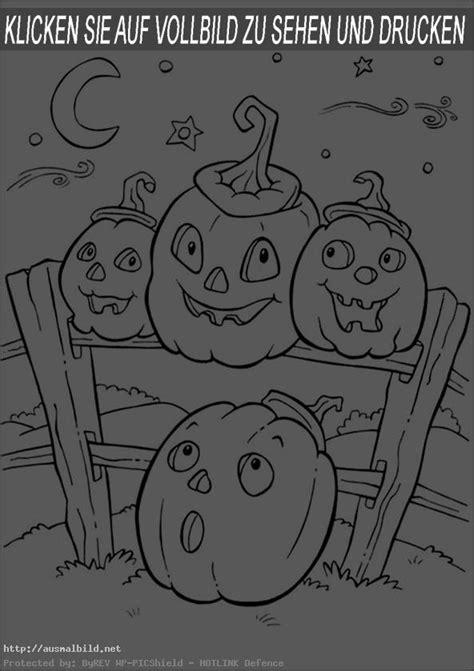halloween  ausmalbild