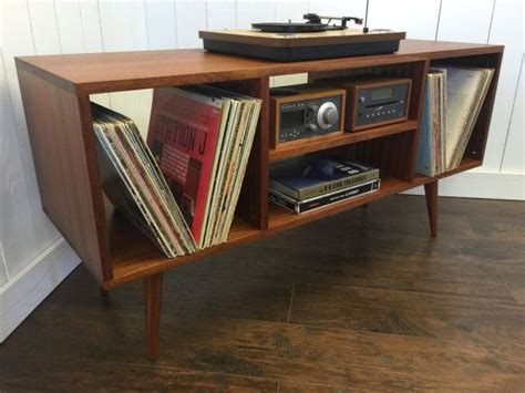 turntable cabinet solid mahogany turntable cabinet with album storage mid