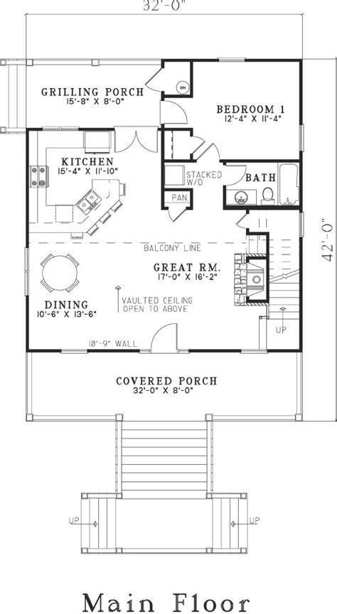 floor and decor floor plan of house plan 82203 outdoor decor