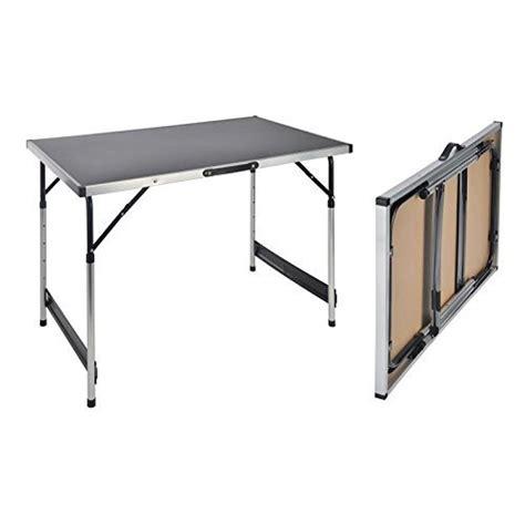 table pliante reglable en hauteur