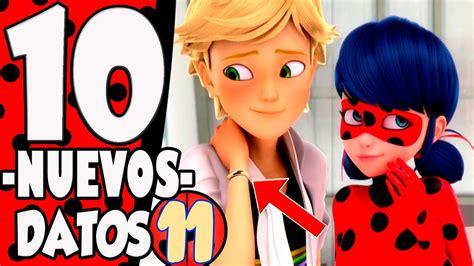 We did not find results for: 10 NUEVAS Curiosidades de Miraculous: Las Aventuras de Ladybug   Parte 11 - YouTube