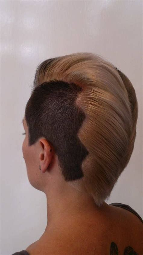 shaved hair images  pinterest undercut