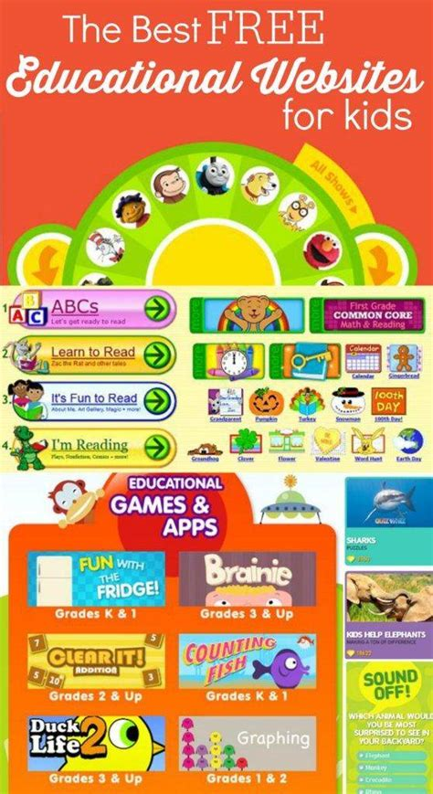 educational websites for the best free educational websites for kids