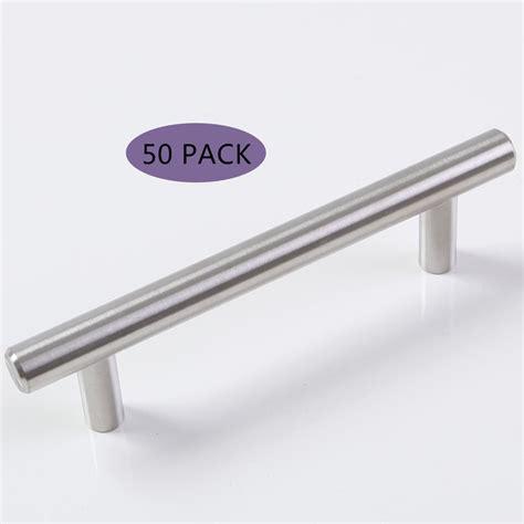 kitchen cabinet handles and knobs 50 x 6 quot satinless steel t bar kitchen cabinet drawer pulls