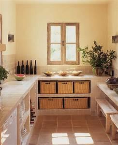 Fabriquer Une Table De Cuisine Avec Un Plan De Travail : comment faire un plan de travail avec rangement lille maison ~ Nature-et-papiers.com Idées de Décoration