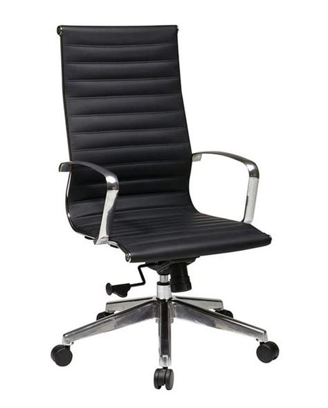 ofd executive high back eco leather chair 74603lt