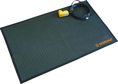 tapis de sol chauffant tapis chauffant pour poste de travail acso sas ref 360500 plancher tapis chauffant