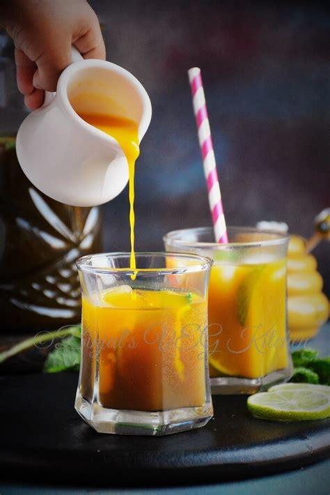 mango iced tea binjals veg kitchen