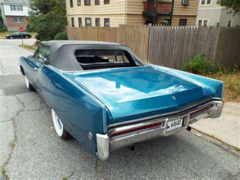 Find used 1968 Buick Electra 225 Custom Convertible 2-Door ...
