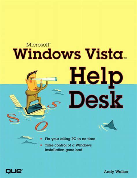 Pearson Education Microsoft Windows Vista Help Desk