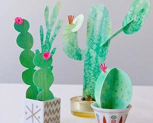 10 creative and cactus crafts 410 | cactus crafts kids