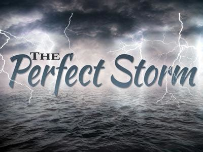 church powerpoint template  perfect storm
