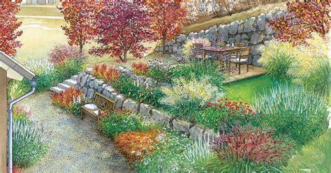 Japanischer Garten Vorher Nachher by Hanggarten Mit Felsenbirne Und Zaubernuss Gestalten Mein