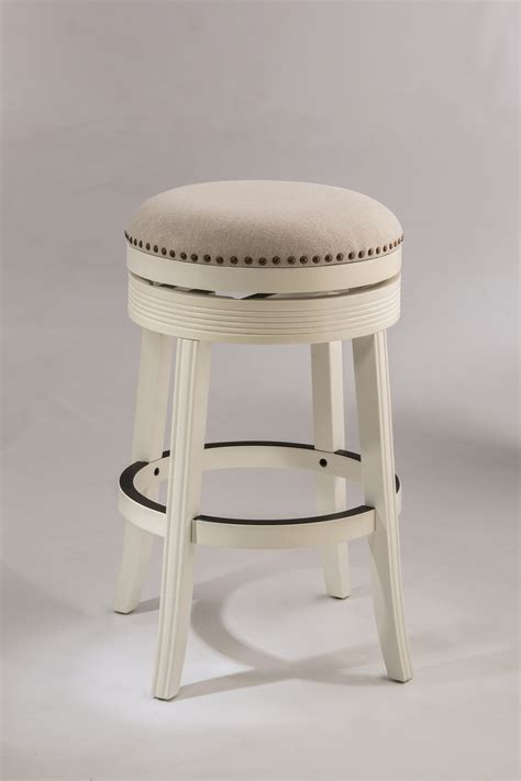 Backless Stools by Hillsdale Backless Bar Stools White Backless Swivel Bar