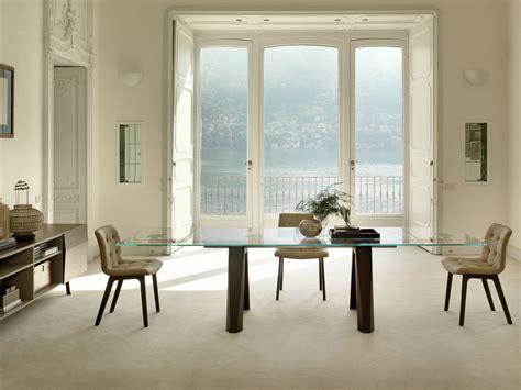 bontempi casa extending rectangular table aron by bontempi casa