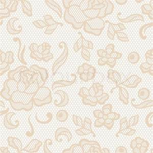 Vintage lace background, ornamental flowers Vector texture
