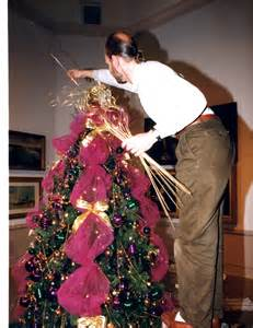 how to decorate a christmas tree with tulle fred gonsowski garden home
