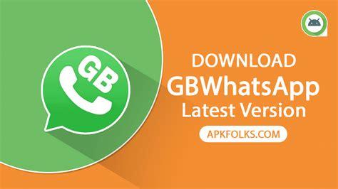 gb whatsapp apk page apkfolks
