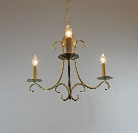 the elton 3 arm wrought iron candle chandelier bespoke