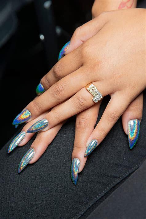 nyfw spring  nail trends popsugar beauty uk