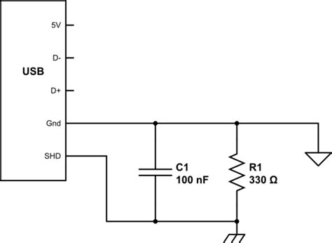 Where Connect Shield Usb Power Supply For Arduino