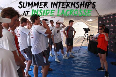 Inside Lacrosse Events Summer Internships  Inside Lacrosse