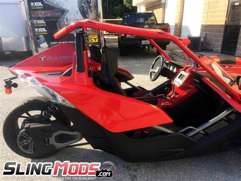 Polaris Slingshot V-back Roof Top By Bullet Speed And