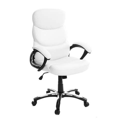 fauteuil de bureau blanc fauteuil de bureau pliable blanc gallien achat vente