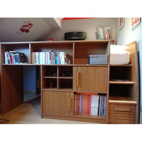 lit mezzanine combin bureau lit mezzanine ado combine bureau pas cher priceminister