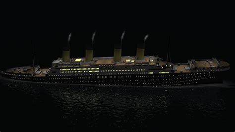 Minecraft Titanic Sinking Animation by Titanic 3d Sinking Simulation 1280x720 720p Hd Wip