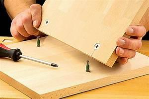 Holzverbindungen Ohne Schrauben : exzenter verbinder ~ Yasmunasinghe.com Haus und Dekorationen