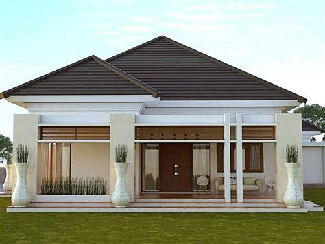 inspirasi rumah minimalis tampak depan impian