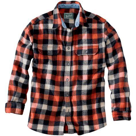 Woolrich Wool Buffalo Flannel Shirt  Men's Backcountry