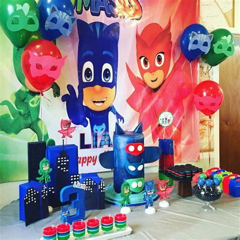 pj masks birthday theme pj mask party decorations mask