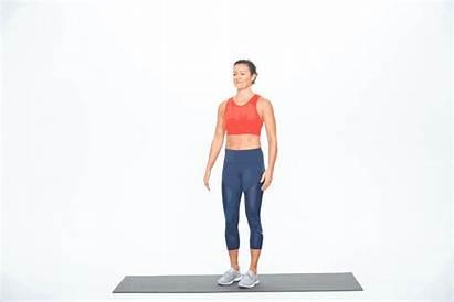 Knee Standing Hug Hugs Chest Fitness Leg