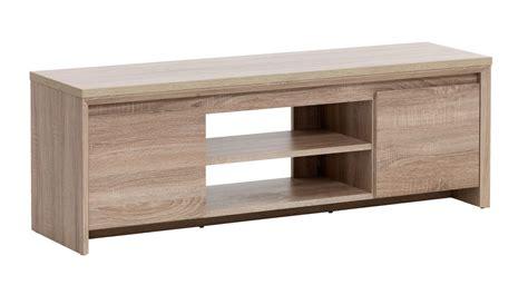 tv bench hallund  door oak jysk