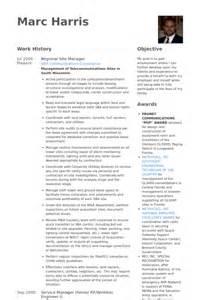 Bauleiter Cv Beispiel Visualcv Lebenslauf Muster Datenbank