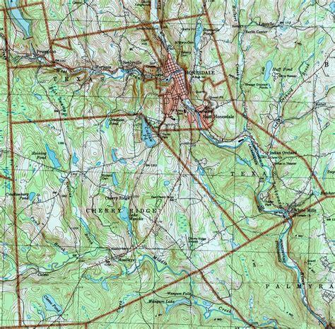 wayne county pa maps township lake cherry ridge usgs pennsylvania waymart como campground texas clemo
