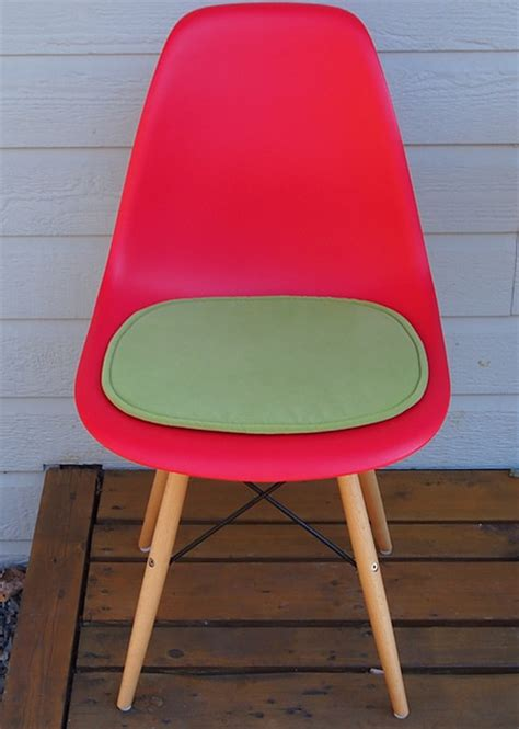 eames eiffel side chair cushion midcentury seat