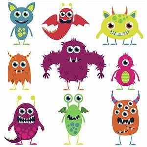 Cute Cartoon Monsters - ClipArt Best
