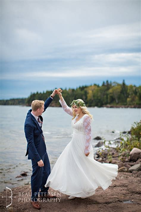 wedding photographer duluth mn lake superior north