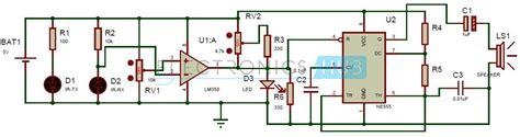 how to make best burglar alarm circuit