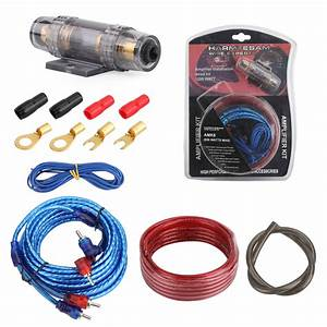 Motorgenic Car Amplifier Wiring Kit 18ga Audio Rca Sub