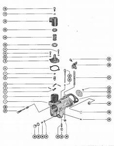 Mercury Marine 500 Carburetor Assembly  Complete Parts